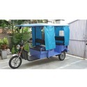 Gev Open Body Battery Operated Rickshaw, Seating Capacity: 6