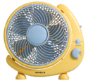 38 Watts Havells Ss Standard Crescent Table Fan, Color: Yellow