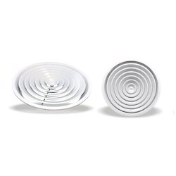 Powder Coated Stainless Steel Circular Diffusers, Shape: Circular/Round, for Office Use