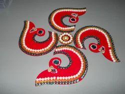 Swastik Acrylic Rangoli