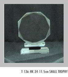11.5 cm Crystal Trophies