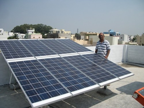 Solar Photovoltaics Solar Roof Top Power Plant