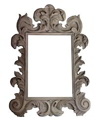 Hand Carved Wall Mirror Frame