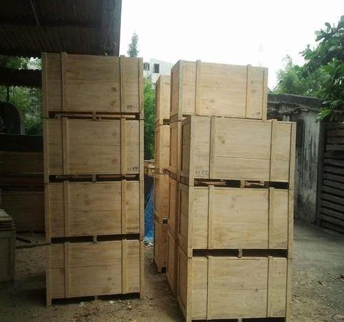 Rectangular Domestic Wooden Packaging Material