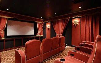 Home Theater Designing, Home Theatre Interior Designing Service in ...