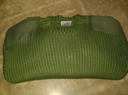 Military Woolen Pullover