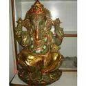 Semi Precious Ganesha Statue