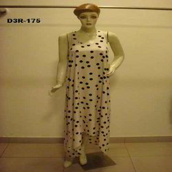 Women's Dot Print Night Dress