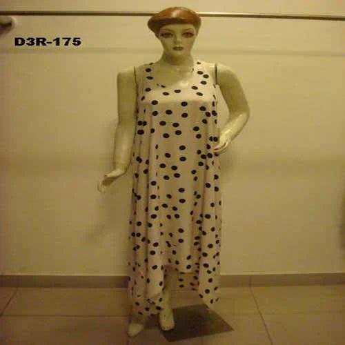 520af33249 Women's Dot Print Night Dress at Rs 450 /piece(s)   Ladies Night ...