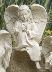Girl Angel Statue