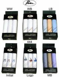 Woven Cotton Handkerchiefs