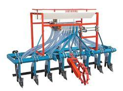 Seed Cum Fertilizer Drill (With Cultivator)
