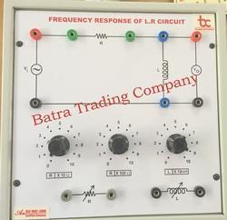 Frequency Response LR Circuit