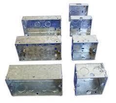 gi metal modular ordinary junction house wiring box vinayak rh indiamart com junction box wiring size Telephone Wiring Junction Box
