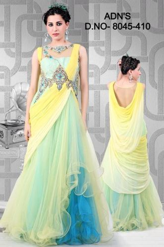 Fancy Party Wear Gown - View Specifications