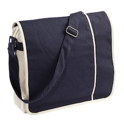 Natural Cotton Messenger Bag