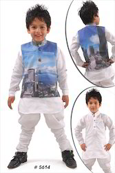 Kids Printed Kurta