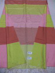 Pure Silk Reversible Multi Color Reversible Border Shawls