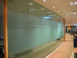 Plain Glass Partition, Shape: Rectangular