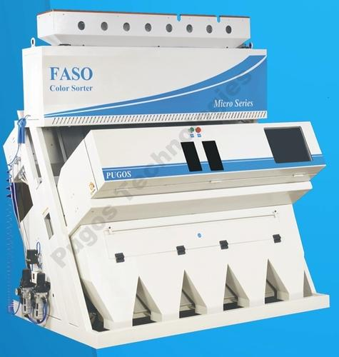 FASO Advanced Color Sorting Machines, Capacity: Upto 1.0 Tons/Hour