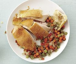 Chicken with Vegetable Stuffing