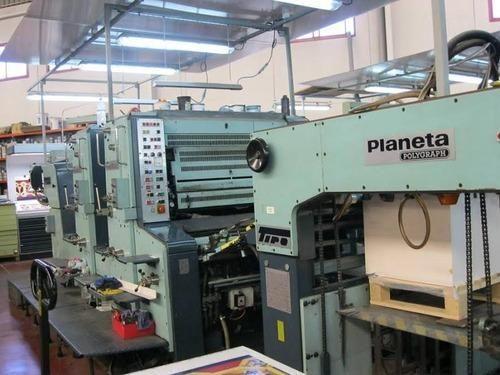 Number Plate Suppliers >> Planeta Super Variant Offset Printing Machine - Kumar ...
