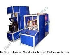 pet stretch blowing machine for internal pre heating system