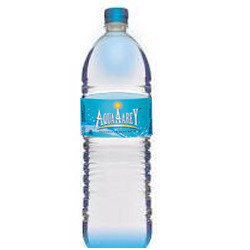 1 Liter Packaged Drinking Mineral Water Bottle