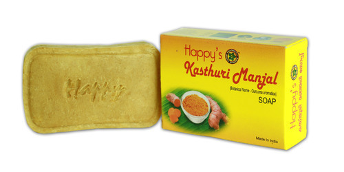 Kasthuri Manjal Herbal ( Curcuma Aromatica) Soap