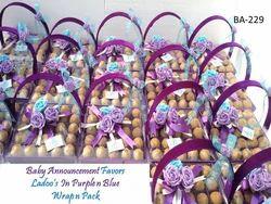 Gift Announcement Basket