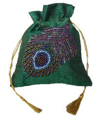 Beaded Coin Pouch