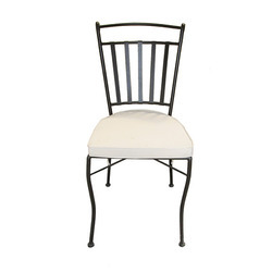Wrought Iron Restaurant Chairs