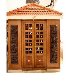 Wooden Door And Pooja Room Manufacturer K V Interior