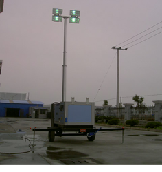 3.5 kVA Diesel Generator With Halogen Lamp Pole