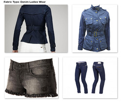 Denim Fabric for Ladies Wear
