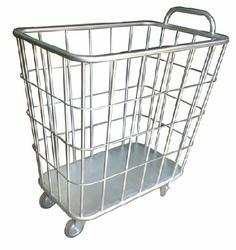 Stainless Steel Linen Trolley