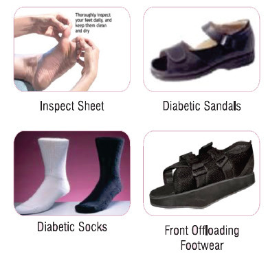 Diabetic Foot Care ड यब ट क फ टव यर