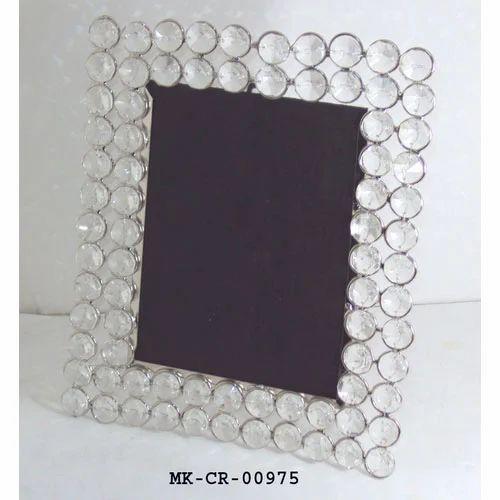Rectangular MKI Crystal Photoframe