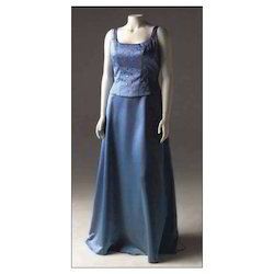 S And XL Blue Bridesmaid Dress