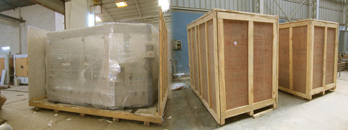 Heavy Machinery Wooden Packing Box for Shipping