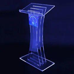 Acrylic Plexiglass Podium