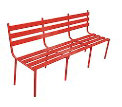 BCH 03 Metal Outdoor Bench