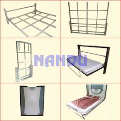 Folding Wall Bed Mechanism with Framing (Only Mechansim)