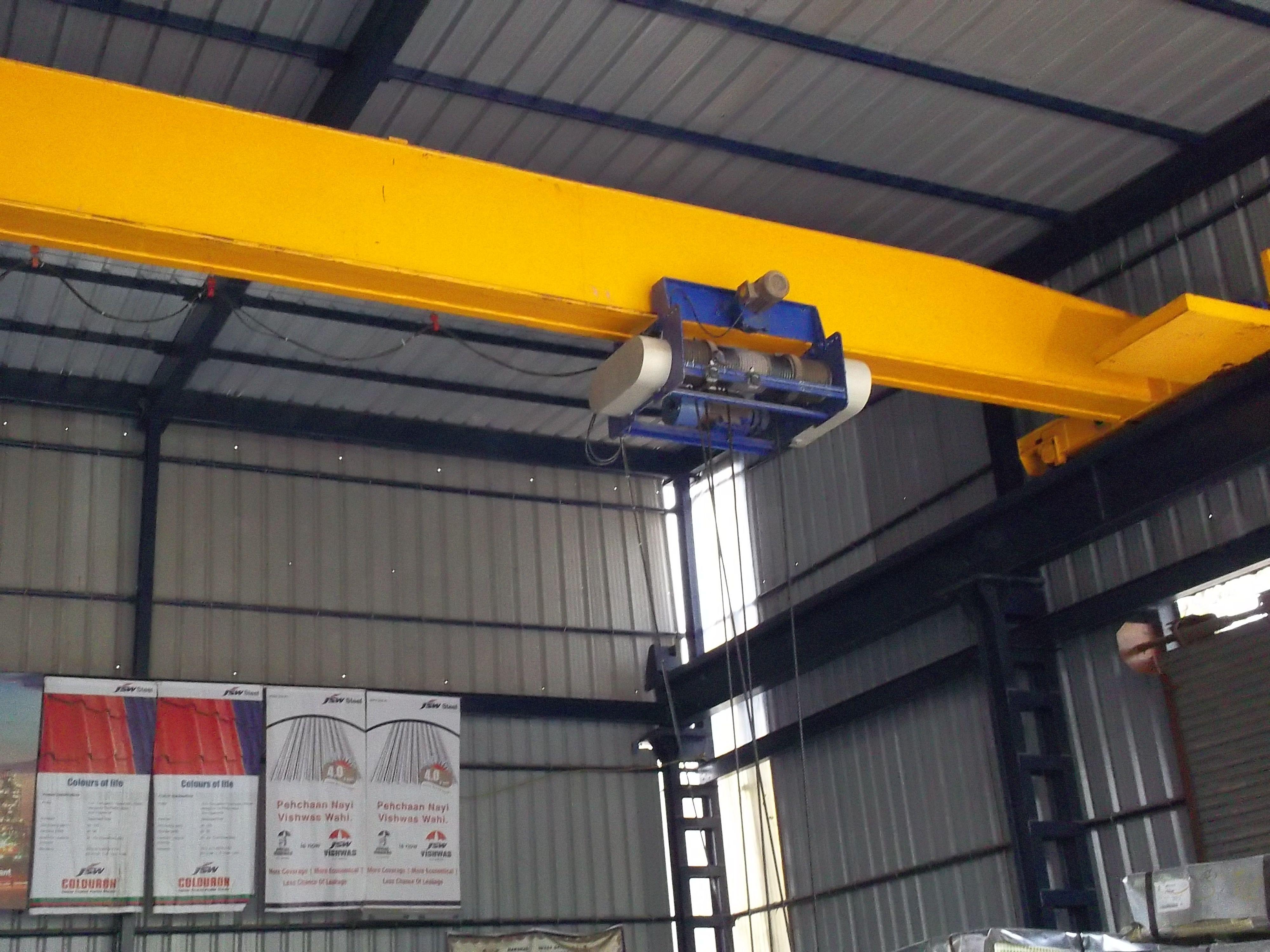 Eot Cranes Box Girder Eot Crane Manufacturer From Ahmedabad