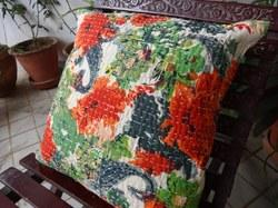 Vintage Patch Cushion Cover