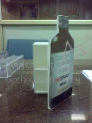 Acrylic Bottle Shape Holder