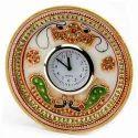 Round White Marble Watch