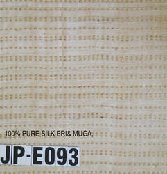 Eri Blended Muga Silk Fabric