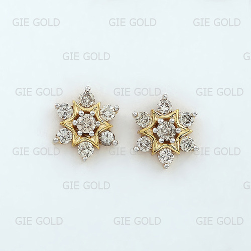 ab7344b1d Traditional Diamond Earring Tops/Studs - Jewels Of Jaipur, Jaipur ...