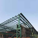 Single Span Double Slope Steel Building Frames